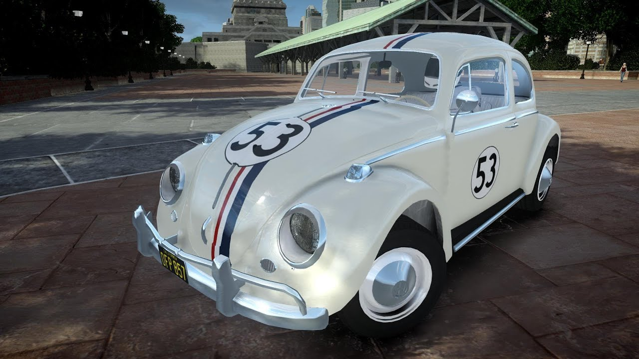 gta iv  volkswagen beetle herbie crash testing insanegaz youtube