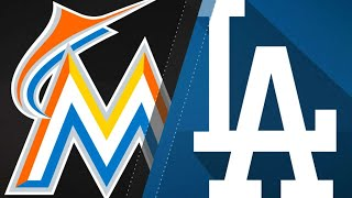Realmuto powers Marlins win over Dodgers: 4/25/18