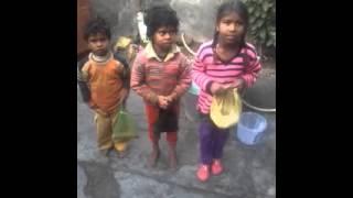 Lohri folk song by little girls at village-Marar