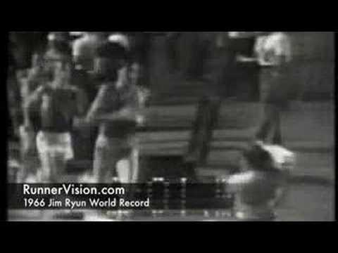1966 Jim Ryun Mile World Record