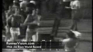 1966 Jim Ryun Mile World Record