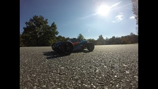 Traxxas Rustler 4x4 4s 101mph Castle Powered