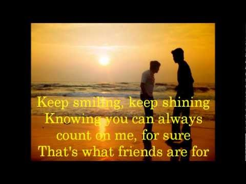 Trijntje Oosterhuis - That's What Friends Are For (lyrics)