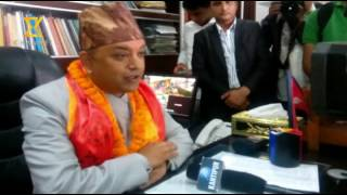 Newly appointed minister  Gagan thapa speaks about health ministry of Nepal