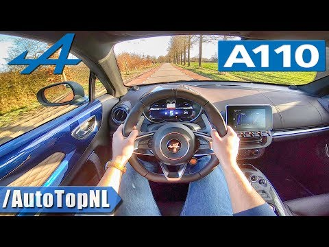 Alpine A110 Légende w/ SPORT EXHAUST | POV Test Drive by AutoTopNL