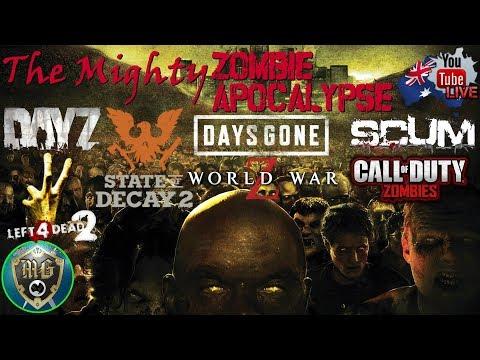 The Mighty Zombie Apocalypse 🧟🧟🧟 (Day 5) DayZ Arma 3 Mod