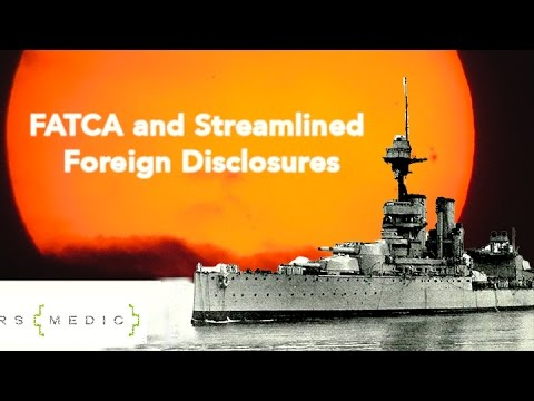 "FATCA and the IRS Streamlined ""Foreign"" Offshore Procedures OVDP"