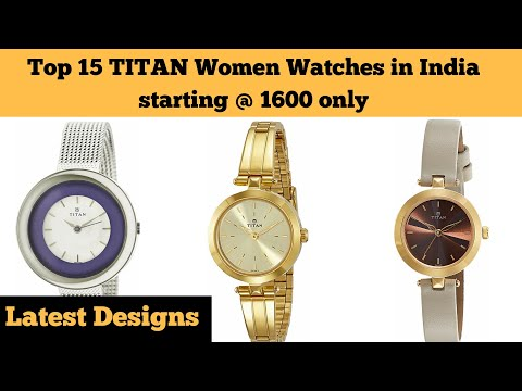 Top 15 Best Selling Titan Women's Watches To Buy In India 2019