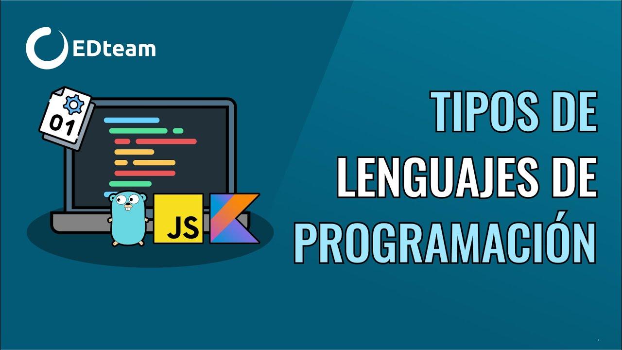 Tipos De Lenguajes De Programacion Youtube