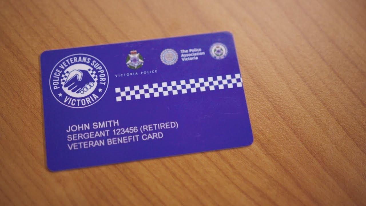 Police Veterans Benefits Card
