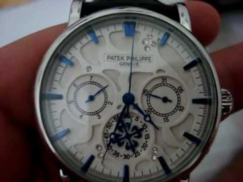 30211a0cd8b Relógio Patek Philippe Geneve (www.importaplis.com) - YouTube