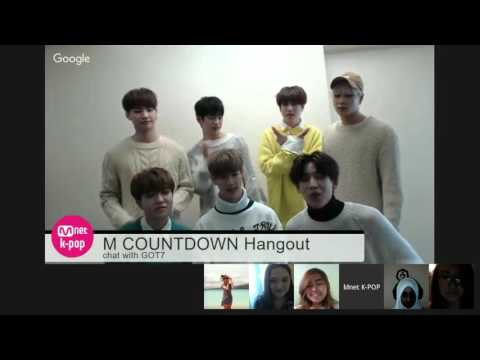 [M  COUNTDOWN Hangout chat with GOT7]