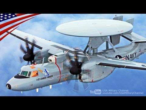 【ステルス・ハンター】E-2D早期警戒機のV字編隊飛行・岩国基地着陸・記者会見