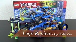 Lego Review - Ninjago Jay Walker One Set #70731