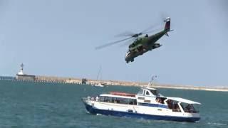 Атакует модель вертолета МИ-24(Настоящей изюминкой авиашоу в рамках конкурса боевых лётчиков «Авиадартс–2016», прошедшего в минувшее воск..., 2016-06-06T11:22:31.000Z)