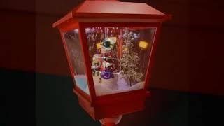 눈내리는 크리스마스 트리 램프, 탁상용