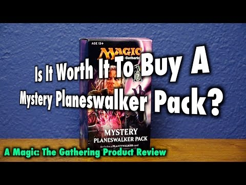 MTG - It is not worth it to buy a Mystery Planeswalker Pack for Magic: The Gathering