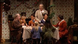 """Happy Thanksgiving!   A Christmas Carol Cast Sings """"humble Cot"""""""