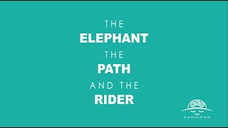 The Elephant, the Path and the Rider