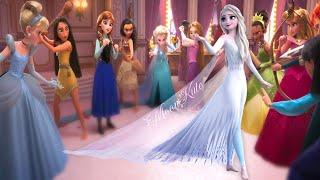 Elsa Frozen 2 VS Disney Princesses
