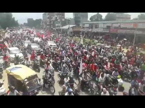भरतपुरमा विजय जुलुस