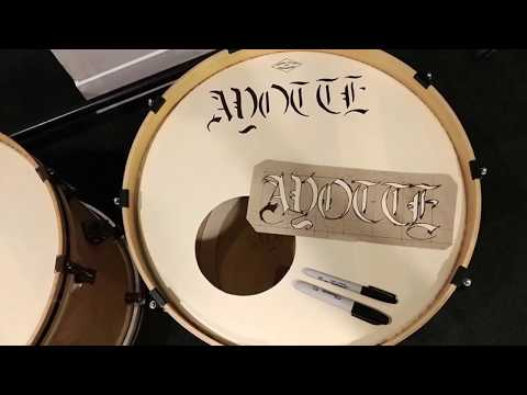 Ayotte Drums - David Keith Drum Build Collab