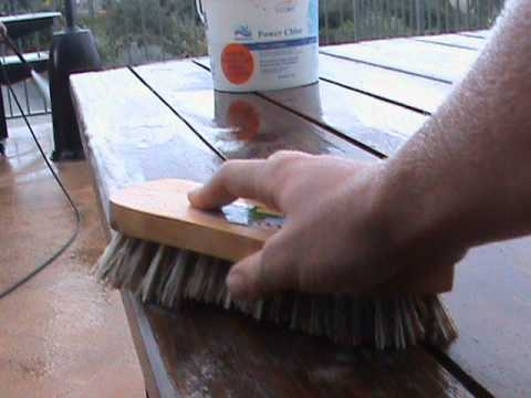 How To: Clean Wooden Outdoor Furniture. Part 44