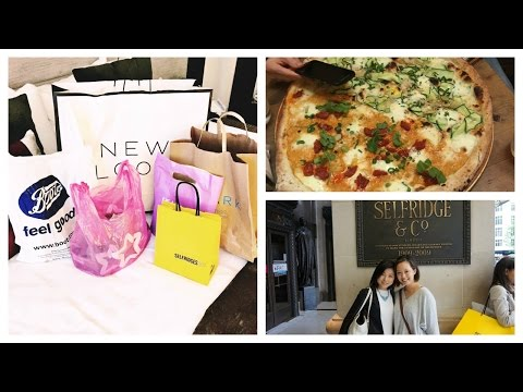 London Day 2 Shopping Spree | Serein's Vlog Channel