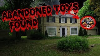 TOYS FOUND - EXPLORING OLD ABANDONED HOUSE!!