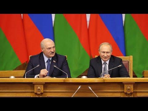 Лукашенко и Путин. Встреча по вопросам интеграции в Союзное государство: мы все решили, что намечали