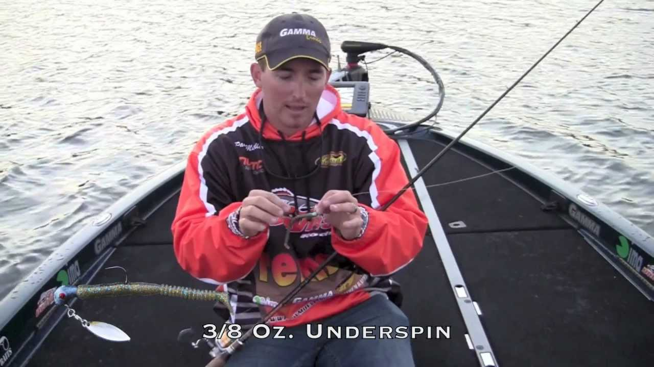 Fall bass fishing underspins for bass youtube for Youtube bass fishing