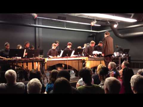 RADIOHEAD - Paranoid Android (performed By Toledo School For The Arts Percussion Ensemble)
