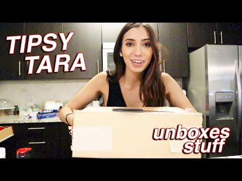 UNBOXING PACKAGES (i was a lil drunk lmao) thumbnail