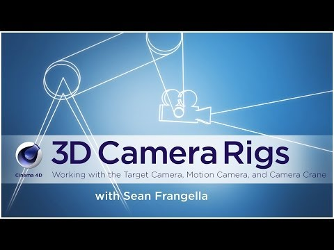 Cinema 4D Camera Crane and other 3D Camera Rigs - (Cinema 4D Tutorial) - Sean Frangella