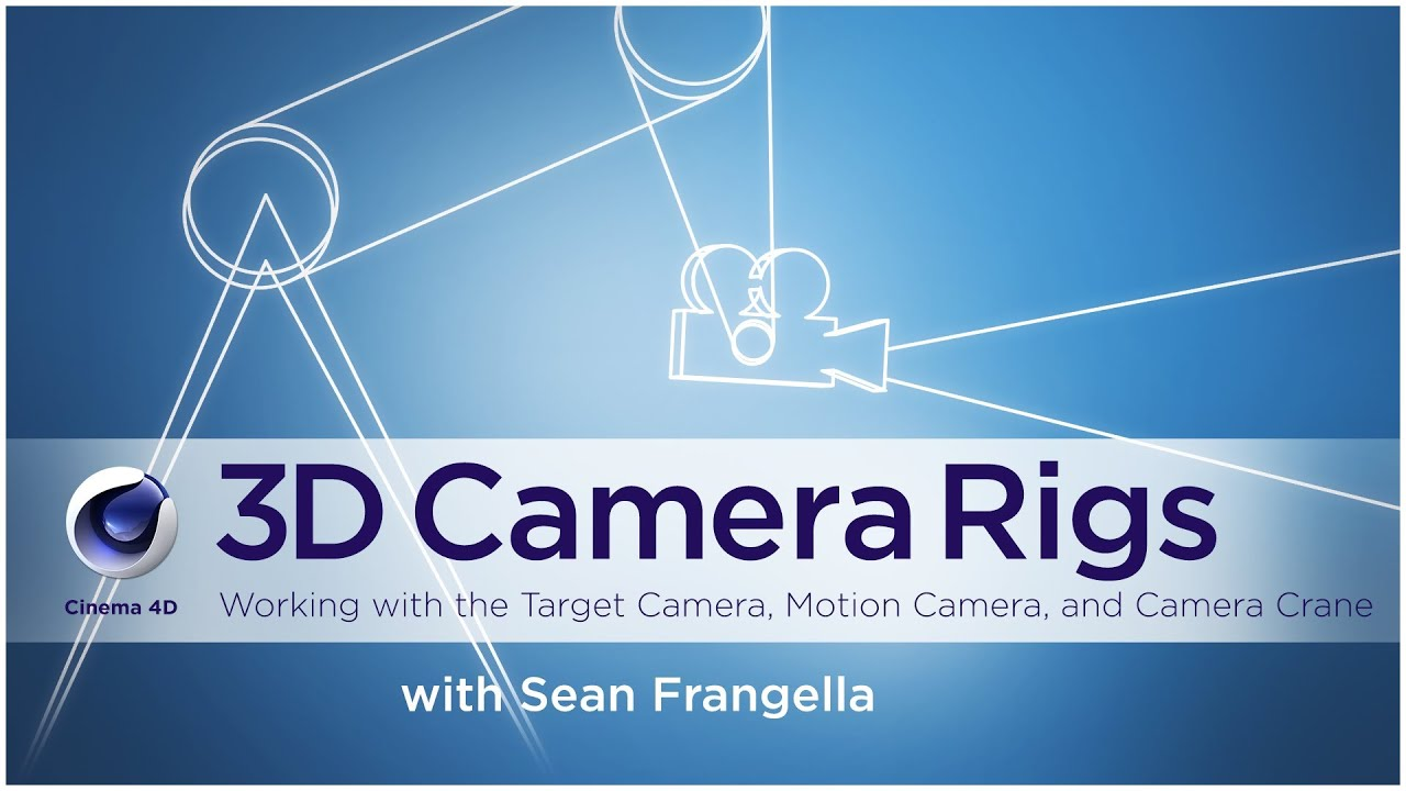 Cinema 4D Camera Crane and other 3D Camera Rigs - (Cinema 4D Tutorial) -  Sean Frangella