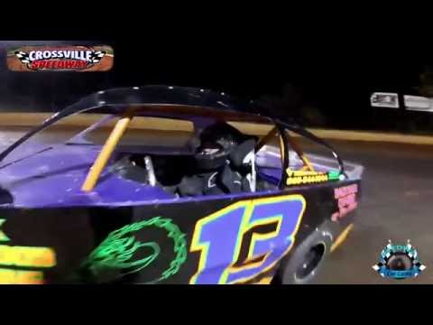 #13 Jamie James - Pony - 10-8-16 - Crossville Speedway - In-Car Camera
