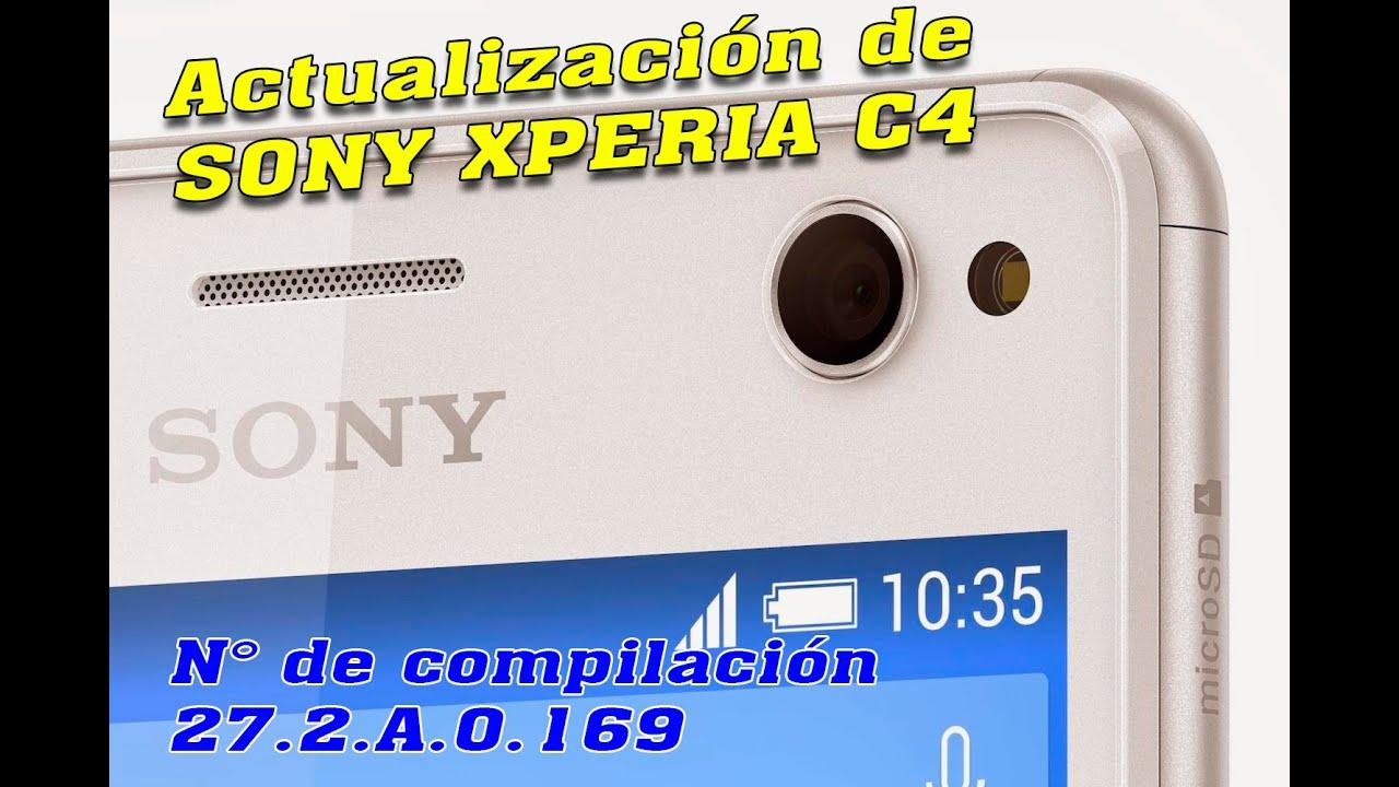 Mobile Info: Sony Xperia C4 Reset