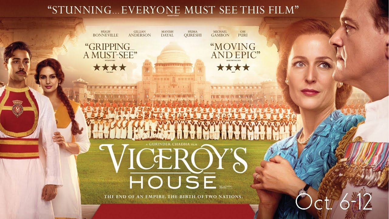 FILM - Oct. 6-12: Viceroy's House - YouTube
