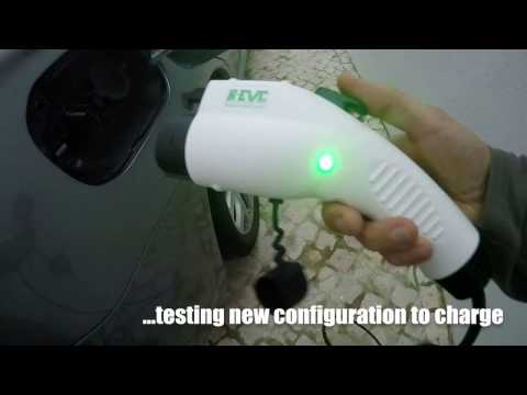 Outlander PHEV - Testing my new EVSE charging cable