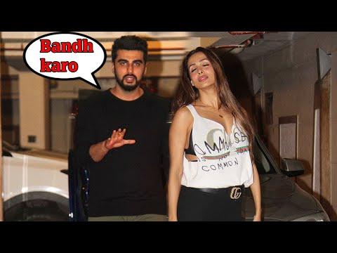 Arjun Kapoor CAUGHT With Malaika Arora At Kareena Kapoor's Birthday Party 2017
