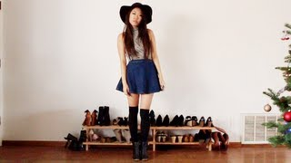 How I Style: Over the Knee Socks Thigh Highs