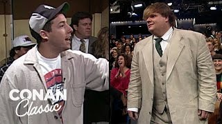Adam Sandler & Chris Farley On