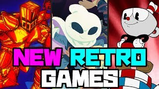 """Top ten """"new retro games"""" 2017"""