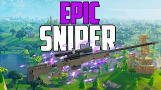 EPIC SNIPER DUO WIN! - TONS OF KILLS - Fortnite Battle Royale Gameplay (Free to Play)