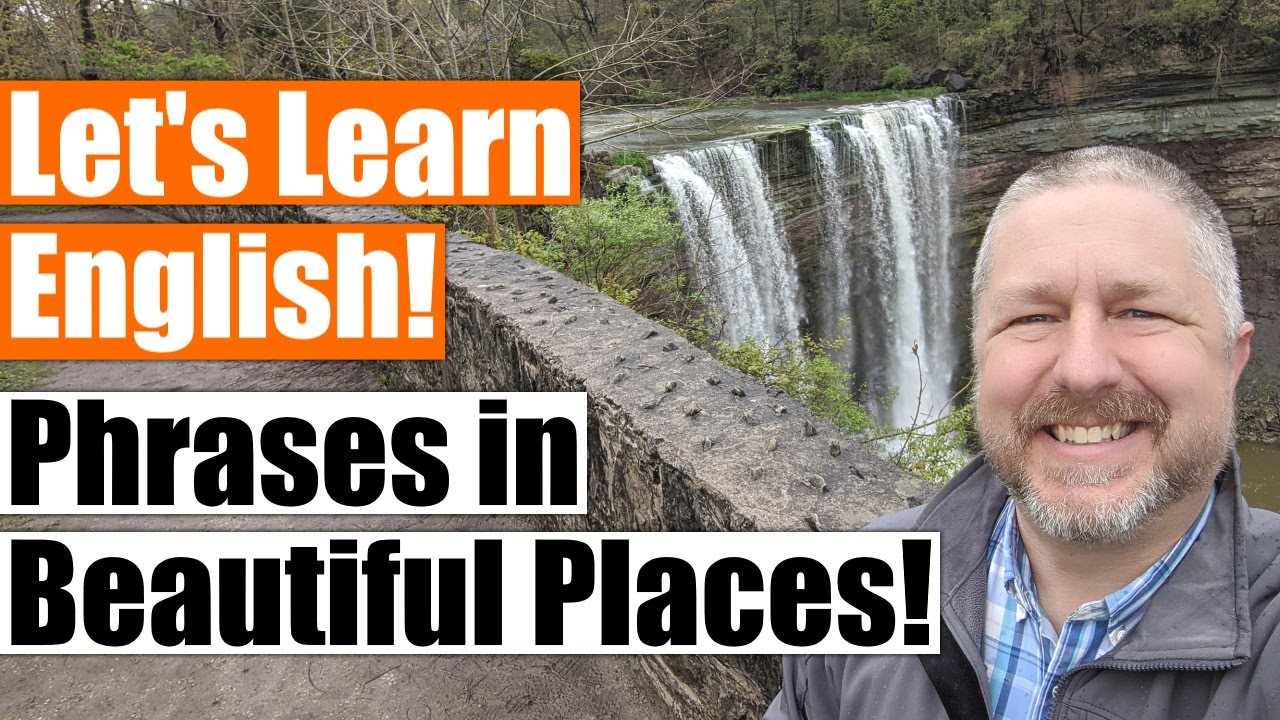 Let's Learn Some English Idioms and Phrases in Beautiful Places