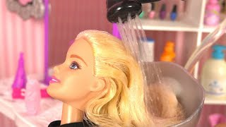 Barbie Salon de Coiffure Elsa Raiponce ✤Histoire de Poupées thumbnail