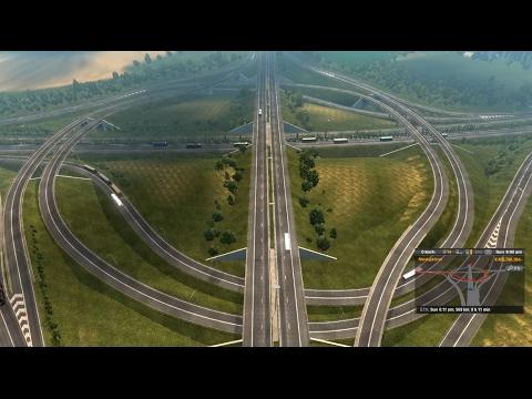 ETS2_ VOLVO_High Traffic_Calais TO Frankfurt am main