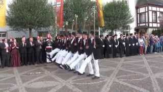 Parade der Junggesellen Schützenfest-Samstag 2014