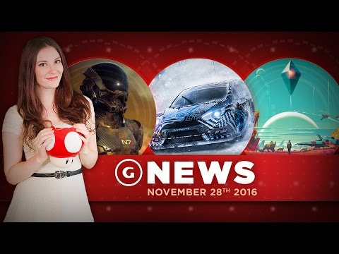 Mass Effect Andromeda Multiplayer Info & New No Man's Sky Vehicle! - GS Daily News