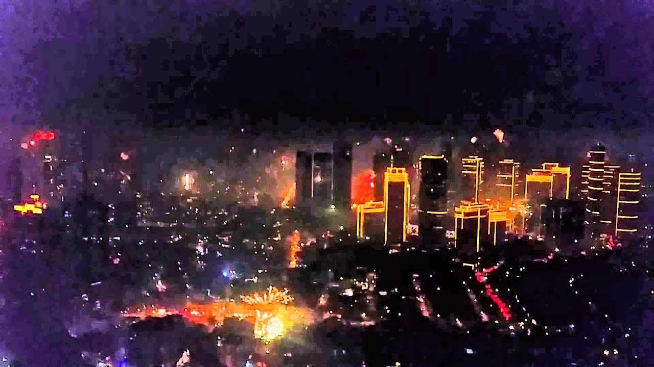 Happy New Year 2015 from Manila!!! Best Fireworks show in ...